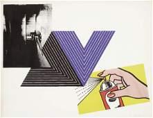 778: RICHARD PETTIBONE (b. 1938) APPROPRIATION PRIN