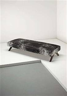 PIERRE JEANNERET, Daybed, from Chandigarh, India, 19