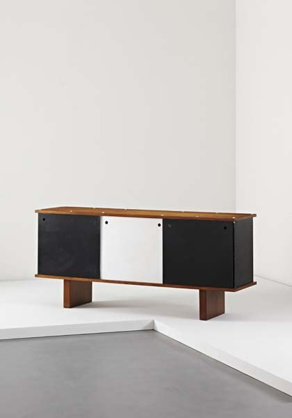 "5: CHARLOTTE PERRIAND, ""Bahut"" sideboard, from Dakar, S"