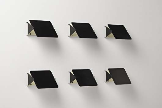 15: CHARLOTTE PERRIAND, Set of six wall lights, model n