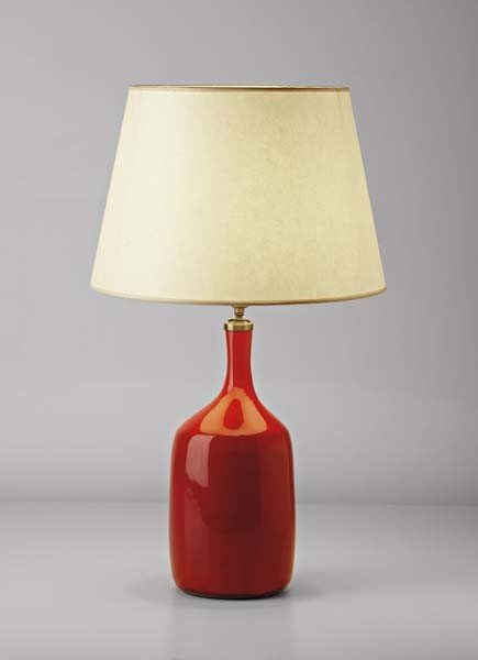 16: JACQUES AND DANI RUELLAND, Table lamp, ca. 1960