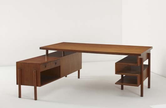 19: PIERRE JEANNERET, Writing table, from Chandigarh, I