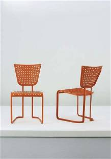 JEAN ROYÈRE, Pair of side chairs, ca. 1937