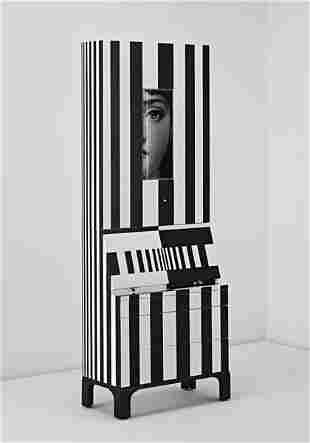 """129: PIERO AND BARNABA FORNASETTI, """"Black and White,"""" t"""