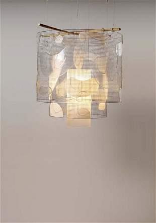 """149: ANDREA BRANZI, """"Platone"""" chandelier, ca. 2008"""