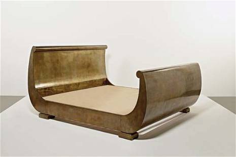 151: JULIAN SCHNABEL, Sleigh bed, ca. 1993