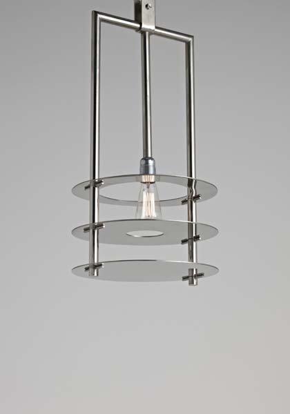 1: RENÉ HERBST, Prototype ceiling light, from the René