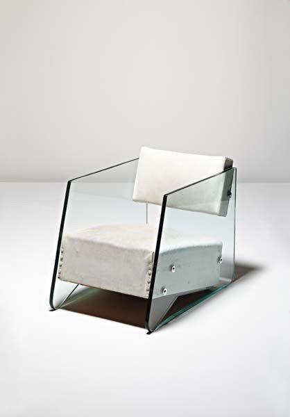 2: DENHAM MACLAREN, Rare and important armchair, ca. 19