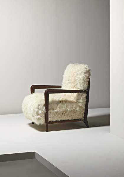 3: JEAN ROYÈRE, Rare armchair, ca. 1936