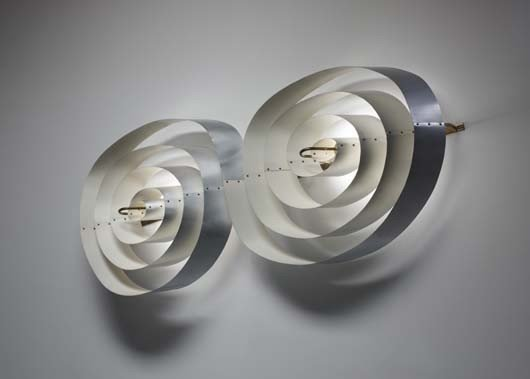 4: POUL HENNINGSEN, Exceptional large wall light, for t