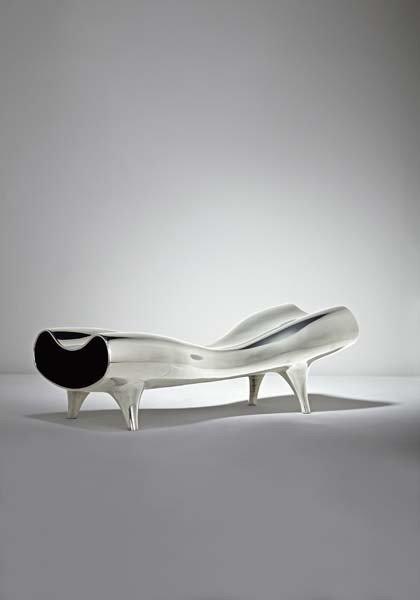 """8: MARC NEWSON, """"Orgone Stretch Lounge"""", 1993"""