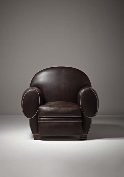 "14: EMILE-JACQUES RUHLMANN, Rare ""Elephant"" armchair, c"