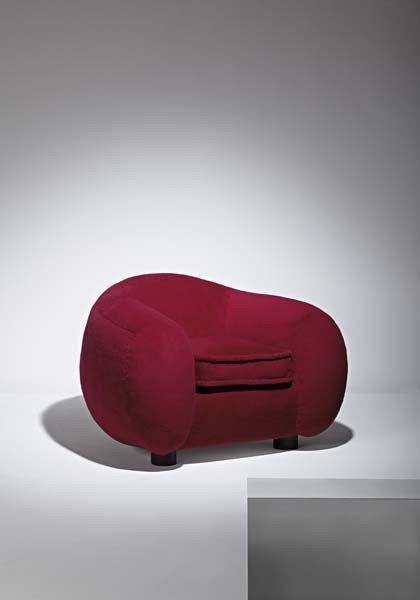 """24: JEAN ROYÈRE, """"Boule"""" armchair, ca. 1950"""