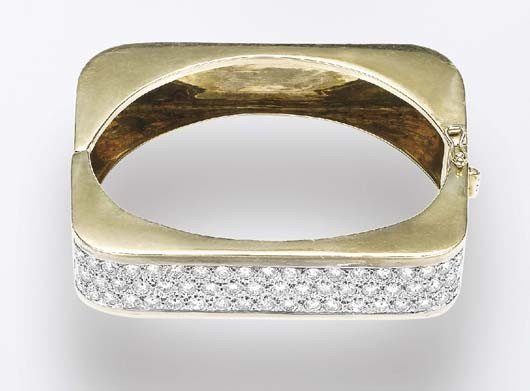 5: Gold and Diamond Bracelet
