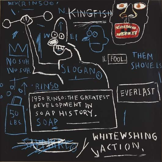 5: JEAN-MICHEL BASQUIAT, Untitled (Rinso), 1982-2001
