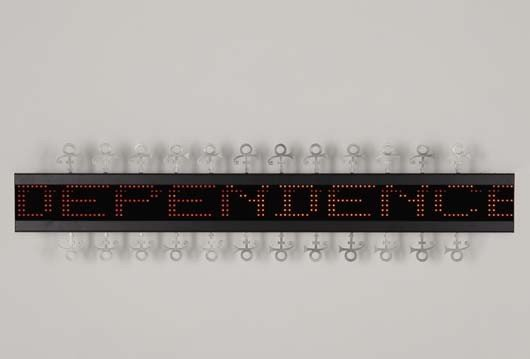 12: JENNY HOLZER, Selections from Truisms (1977–1979) a