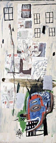 11: JEAN-MICHEL BASQUIAT, Overrun, 1985
