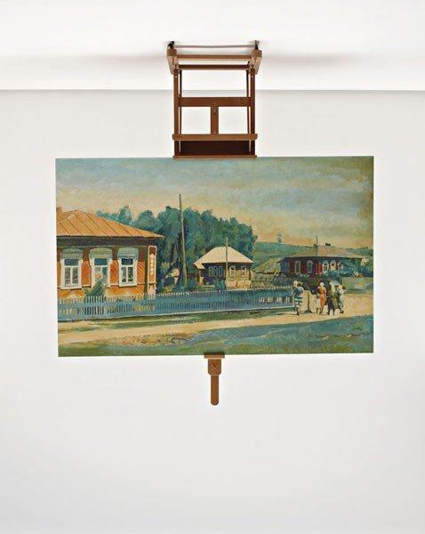 17: ILYA & EMILIA KABAKOV, The Painting on an Easel, 19