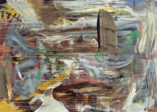 22: ALBERT OEHLEN, Untitled, 1988