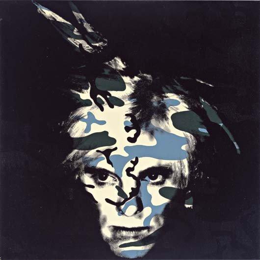 119: Gavin Turk, Camouflage Portrait Green, 2005