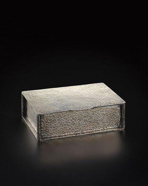 3: JOSEF HOFFMANN, Rare box, model no. M 122, ca. 1904