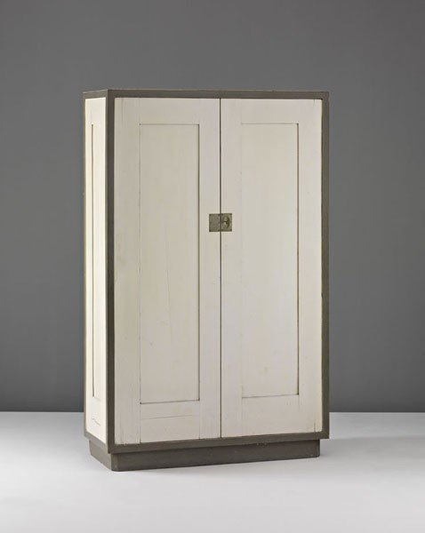 4: JOSEF HOFFMANN, Important cupboard, from the Alfred