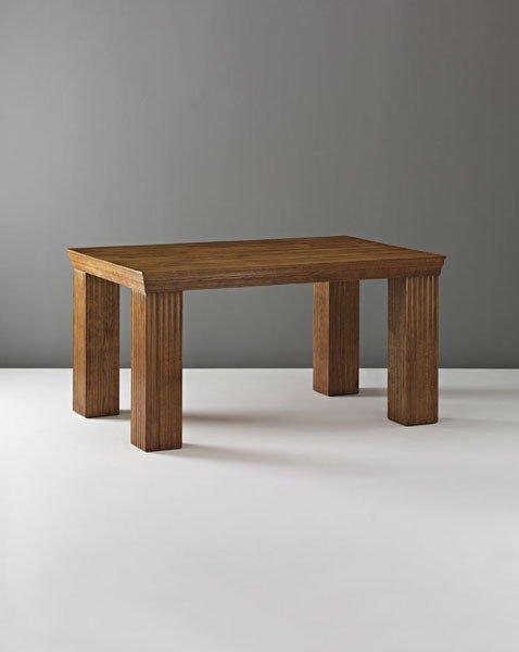6: WILHELM AND JOHANN JONASCH, Unique dining table, ca.