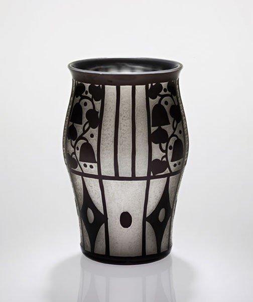 14: JOSEF HOFFMANN, Rare vase, ca. 1911