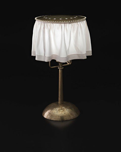 15: JOSEF HOFFMANN, Rare table lamp, ca. 1903-04