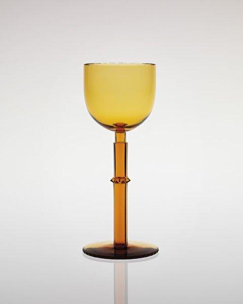 18: JOSEF HOFFMANN, Important goblet, ca. 1914