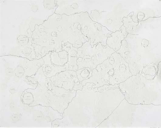 3: Roxy Paine, Untitled (Craters), 1996