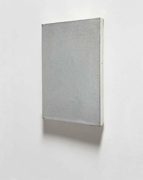 4: Jacob Kassay, Untitled, 2009