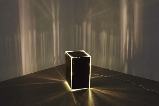 7: Kitty Kraus, Mirrored Cube, 2007