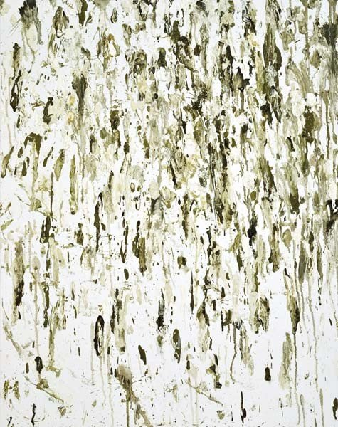 11: Dan Colen, Untitled (Birdshit), 2007