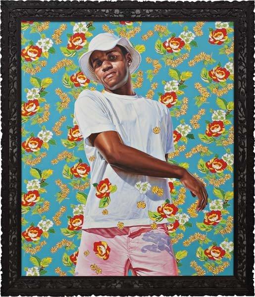17: Kehinde Wiley, Fall, 2009