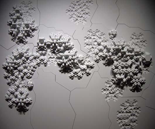"18: ARANDA\LASCH, ""Rules of Six"" wall relief, 2007"