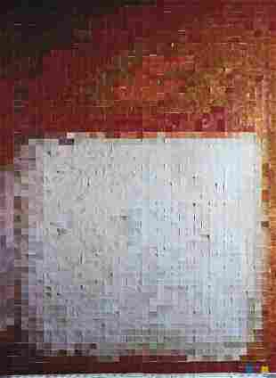 143: Vik Muniz, After Mark Rothko (From Pictures of Col