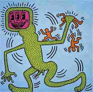 24: Keith Haring, Untitled, 1984