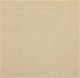 26: Agnes Martin, Untitled, 1967