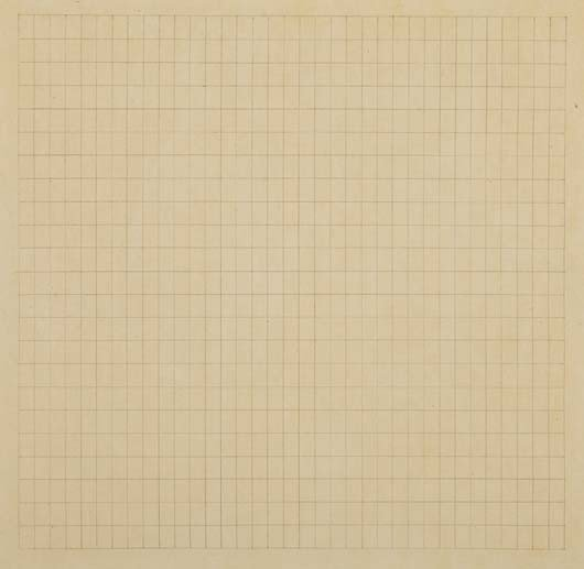 26: Agnes Martin, Untitled, 1967