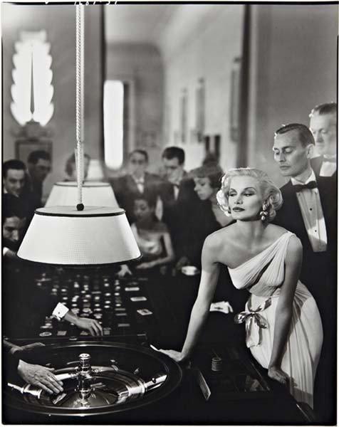 1: RICHARD AVEDON Sunny Harnett, model. Dress by Grès.