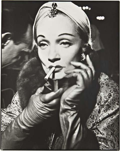 3: RICHARD AVEDON Marlene Dietrich, Turban by Dior, The