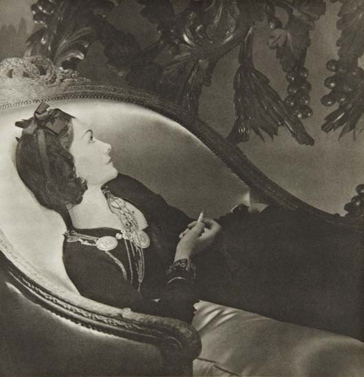 6: HORST P. HORST Coco Chanel, Paris, 1937