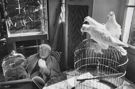21: HENRI CARTIER-BRESSON Henri Matisse, Vence, France,