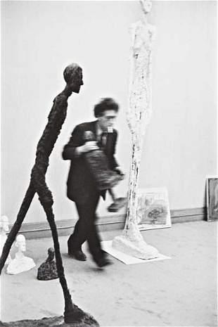 38: HENRI CARTIER-BRESSON Alberto Giacometti, 1961