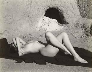 59: EDWARD WESTON Nude, New Mexico, 1937
