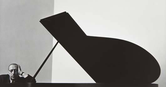 96: ARNOLD NEWMAN Igor Stravinsky, New York City, 1946