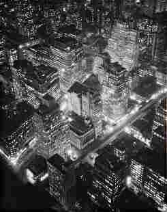 134: BERENICE ABBOTT New York at Night, 1932
