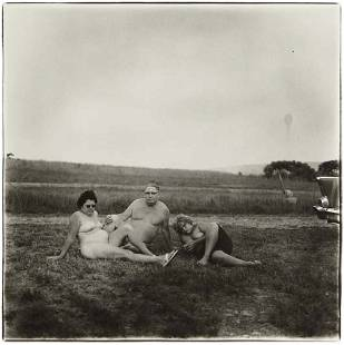 151: DIANE ARBUS A family one evening in a nudist camp,