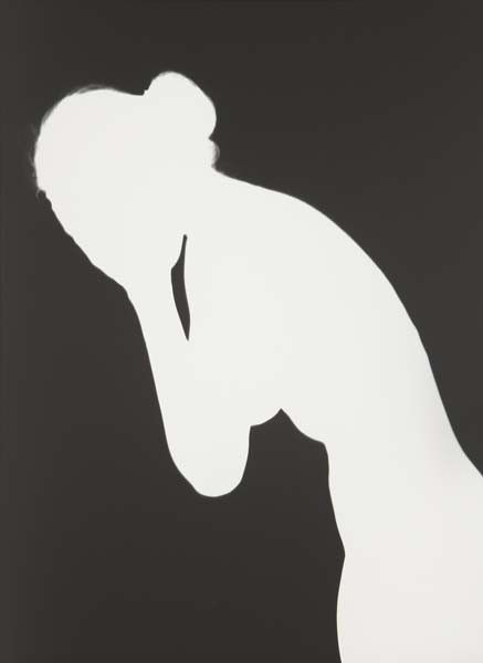 ADAM FUSS Woman weeping from My Ghost, 1999
